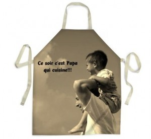 Personnalisez vos cadeaux de saint valentin pour homme - Tablier de cuisine personnalise homme ...
