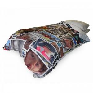 Une housse de couette qui r veille votre chambre idee cadeau photo blog - Faire une housse de couette ...