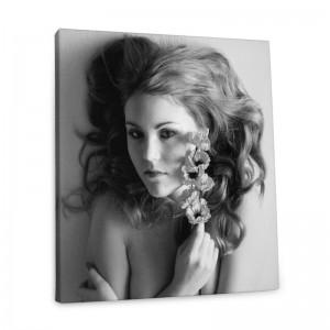 toile photo noir et blanc