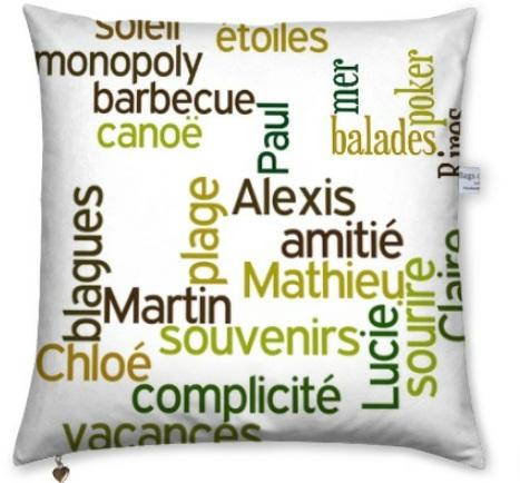 conseil design comment r aliser un cadeau avec un texte original idee cadeau photo blog. Black Bedroom Furniture Sets. Home Design Ideas