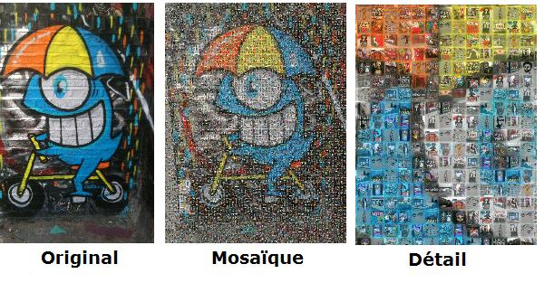 40 une mosaque photo idee cadeau photo blog idee cadeau photo blog - Idees Mosaiques Image
