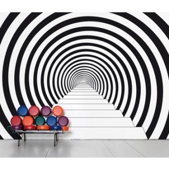 Inspiration effet trompe l il idee cadeau photo blog - Papier peint effet coussin ...