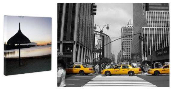 Imprimez et prolongez vos souvenirs de vacances idee for Credence new york noir et blanc