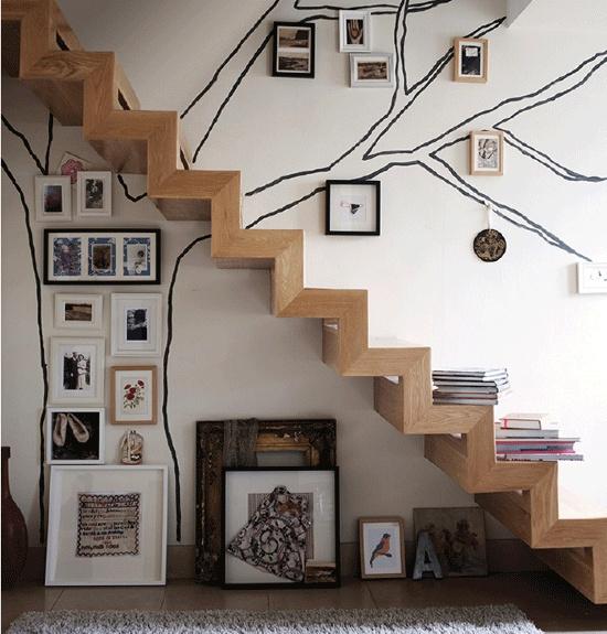 Comment disposer des tableaux pour une d co design idee cadeau photo blog - Cadre decoratif pour salon ...