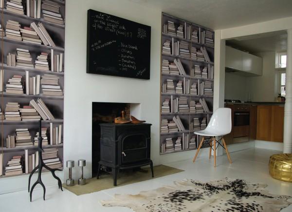 Papier peint 4 murs salle a manger asnieres sur seine - Papier peint salle a manger 4 murs ...