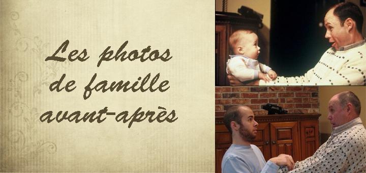 photos de famille avant après