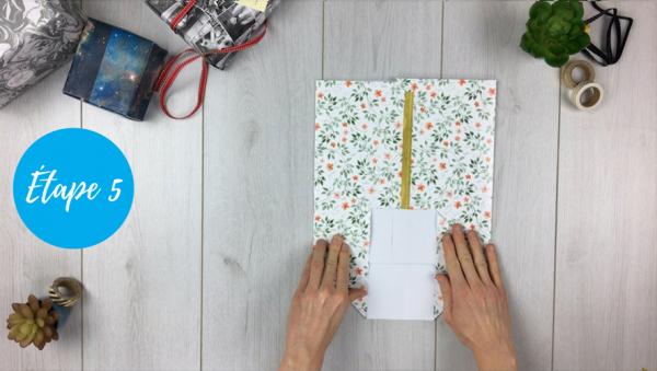 fabriquer une pochette cadeau personnalis e id e cadeau photo. Black Bedroom Furniture Sets. Home Design Ideas