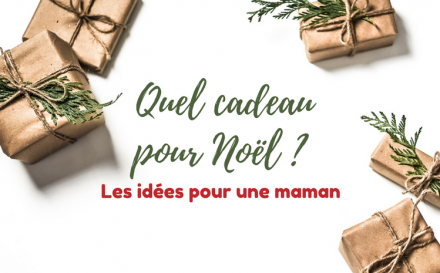 Bannière Idée de cadeau de Noel pour une maman