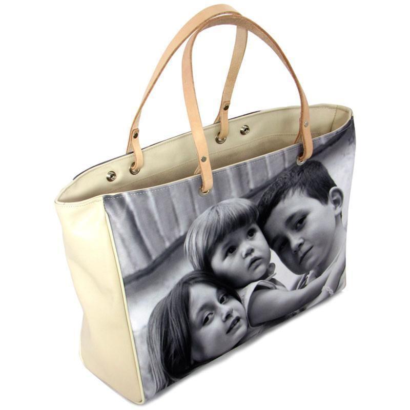 sac a main personnalis avec votre photo imprim e. Black Bedroom Furniture Sets. Home Design Ideas
