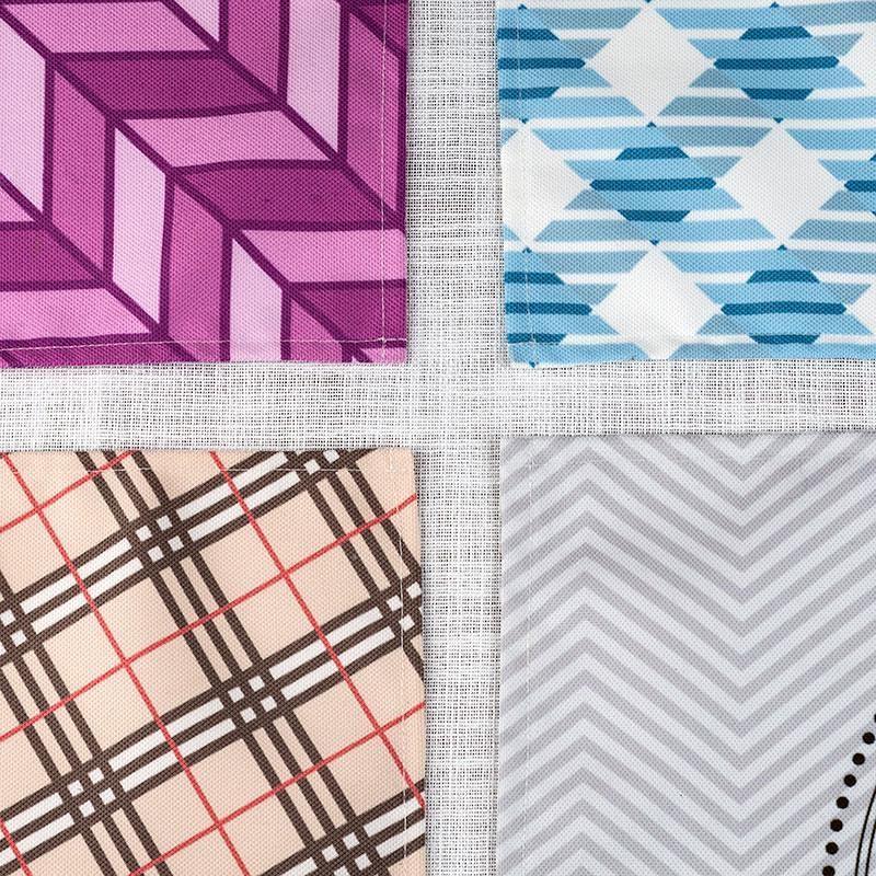 Sets de table textile personnalis s for Sets de table tissu