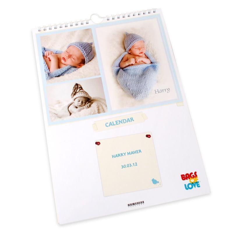 Un calendrier photo personnalis avec vos images et textes - Calendrier chinois bebe 2017 ...