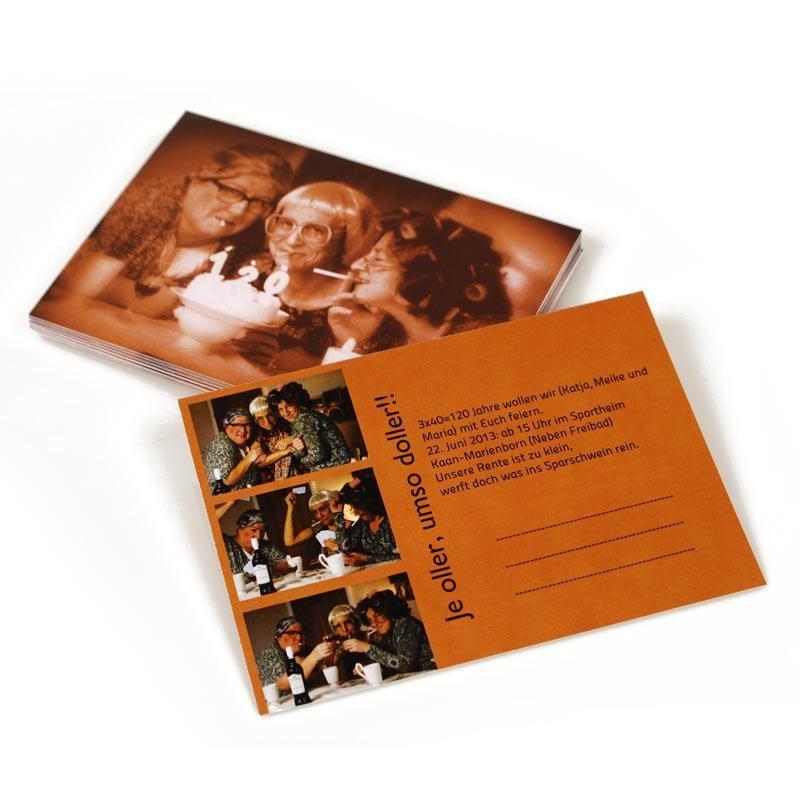 Carte postale personnalisée avec vos photos