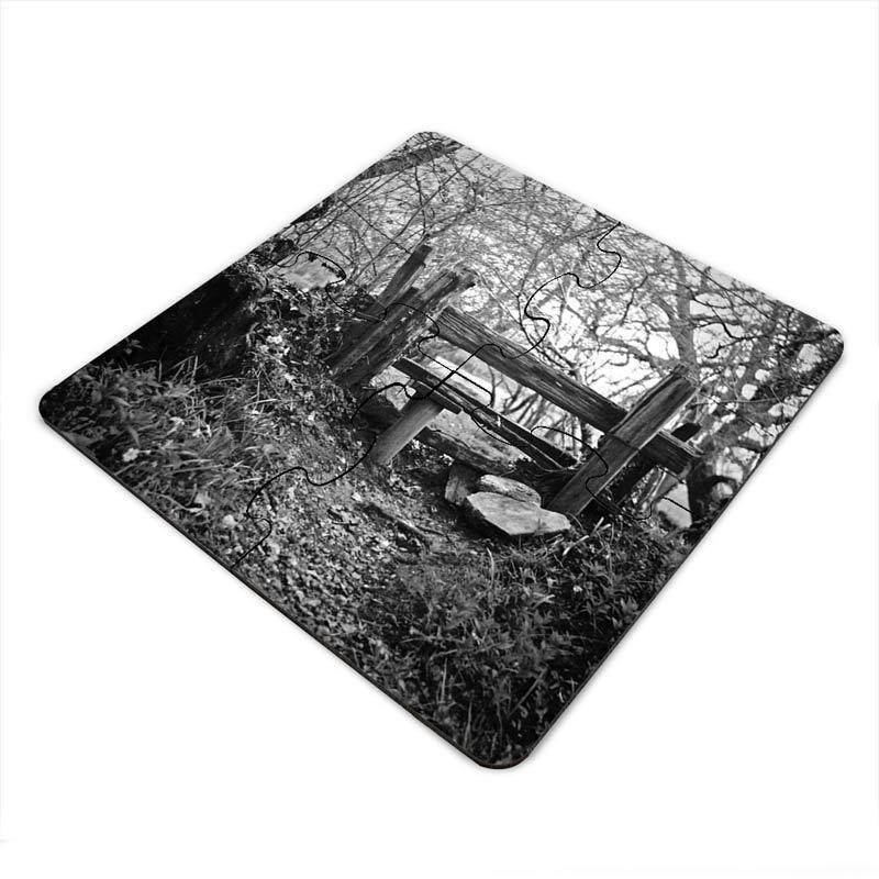 dessous de verres puzzle personnalisables avec votre photo. Black Bedroom Furniture Sets. Home Design Ideas