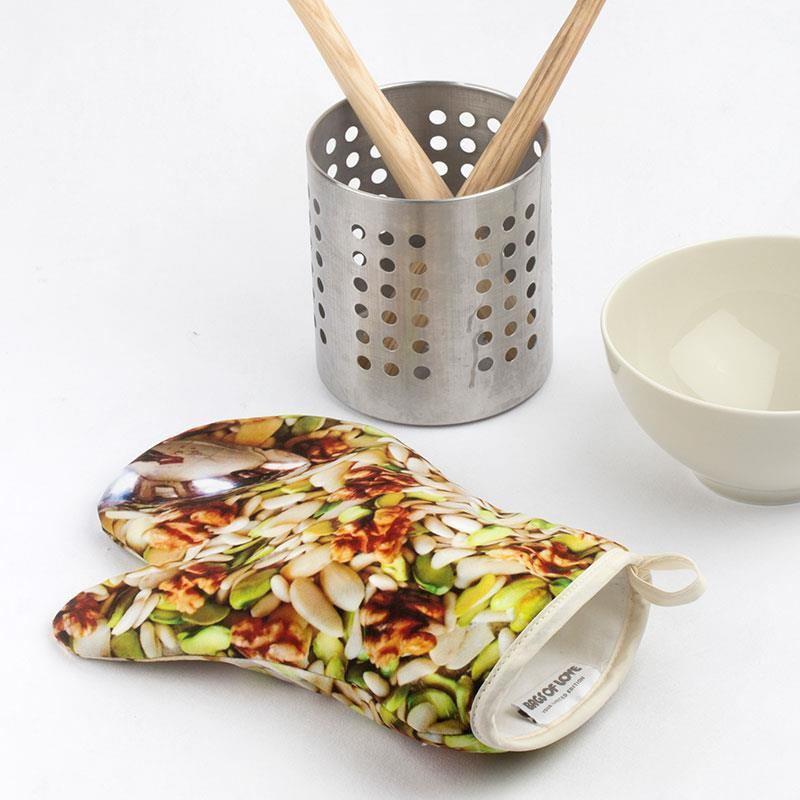 gant de cuisine personnalis cr ez votre gant de cuisine. Black Bedroom Furniture Sets. Home Design Ideas