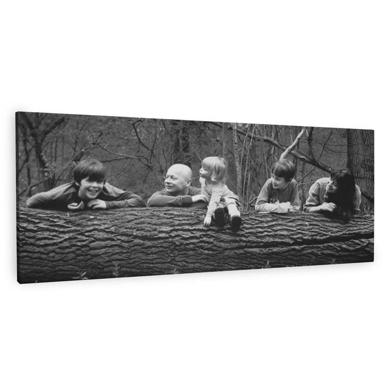 Tableau noir et blanc imprimez vos photos sur toile noir for Tableau noir et blanc avec touche de couleur