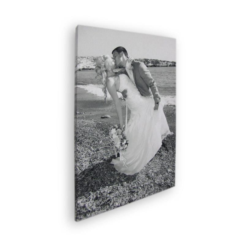 Tableau noir et blanc imprimez vos photos sur toile noir for Tableau portrait noir et blanc