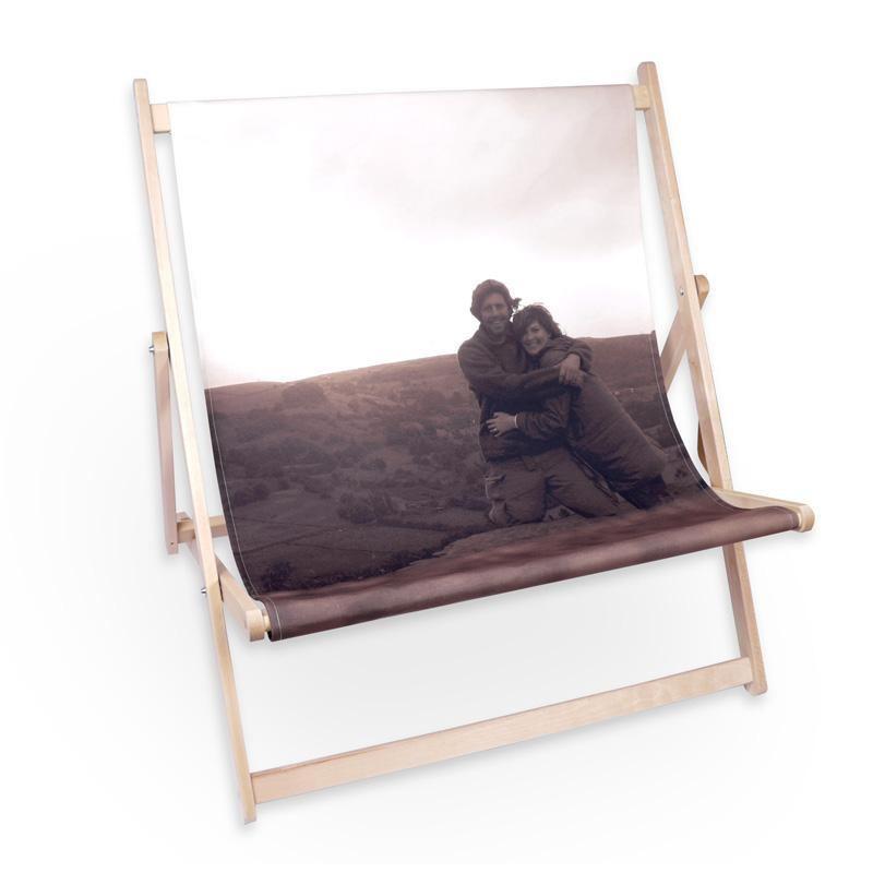 transat double personnalis avec vos photos. Black Bedroom Furniture Sets. Home Design Ideas